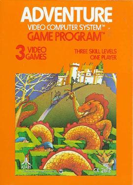 Adventure igra Atari 2600