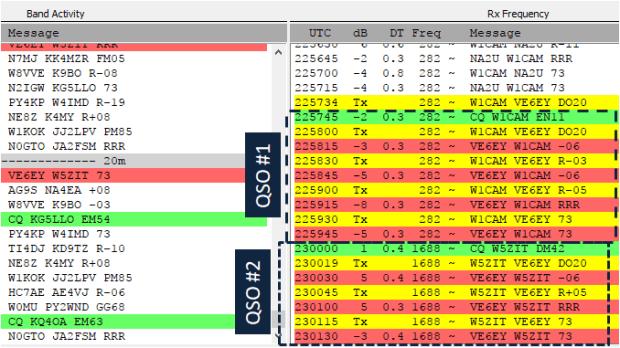 wsjt ft8 weak signal mode