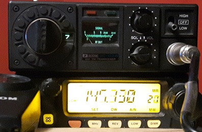 Classic ICOM IC-22 FM Transceiver - Making It Up