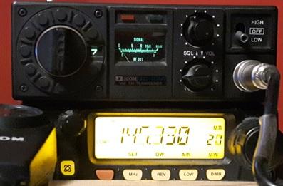 icom ic-22 fm transceiver