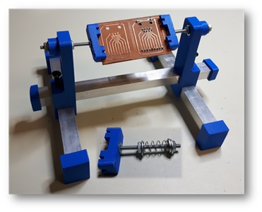 3d printed circuit board holder