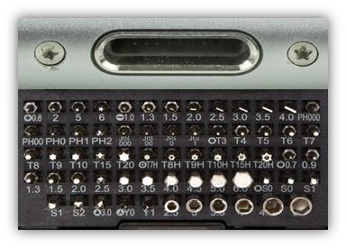 micro screw types