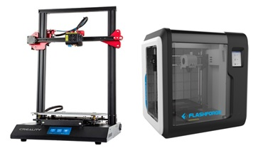 new 3d printer options