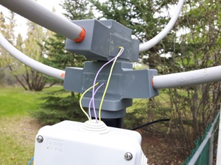 wideband loop antenna mounts