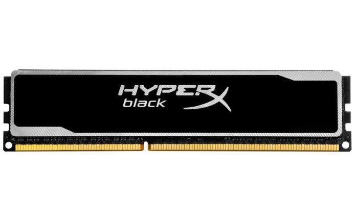Kingston Technology to ship HyperX Memory Kits with a black PCB