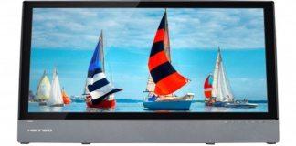 Hanns G touchscreen monitor feature