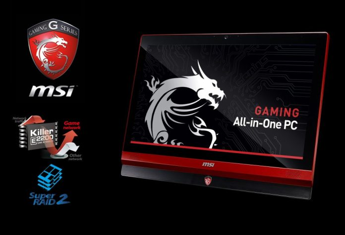 MSI Launches AG220 and AG240 Gaming All-in-One PCs