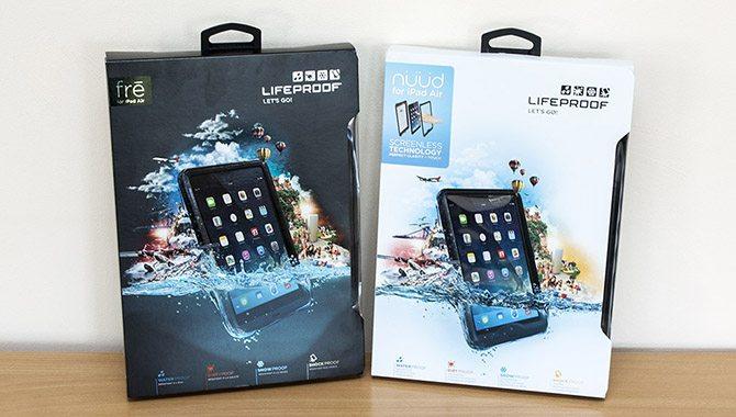 Lifeproof NÜÜD and FRĒ iPad Air Protective Case Overview