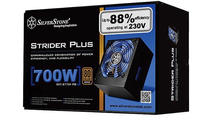 SilverStone Announce New Strider Plus Power Supplies