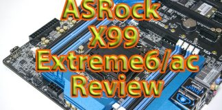 ASRock X99 Extreme6/ac Motherboard Review 27