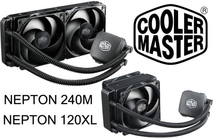 Cooler Master Nepton 120XL and 240M AIO CPU Coolers Review