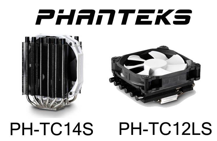Phanteks PH-TC14S and PH-TC12LS CPU Coolers Review