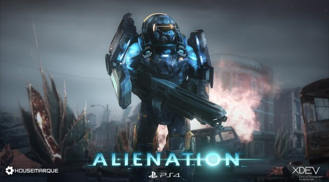 Alienation Pre-Alpha Co-Op Footage
