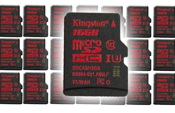 Kingston 16GB Micro SDHC UHS-I U3 Review 16