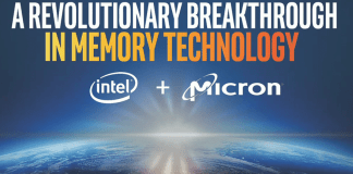 Intel and Micron Produce Breakthrough 3D Xpoint Memory Technology