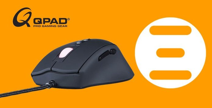 Win a QPAD 8K Gaming Mouse & UC36 Mousepad - WINNER ANNOUNCED