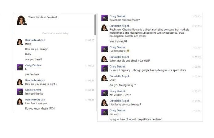Fake PCH Facebook Friend: Meet the new scam, same as the old scam!