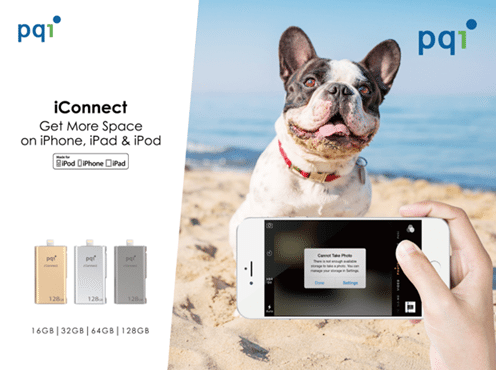 PQI Announces iConnect - Get More Space On iPhones, iPads and iPods 1