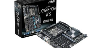 ASUS Announces X99-E-10G WS Motherboard 2