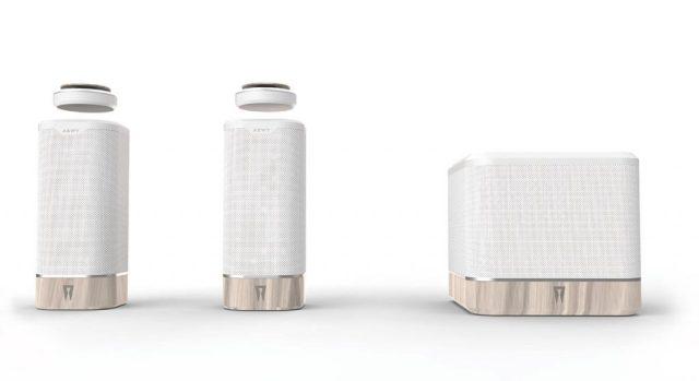 spaco-Levitating-speaker-voice-control