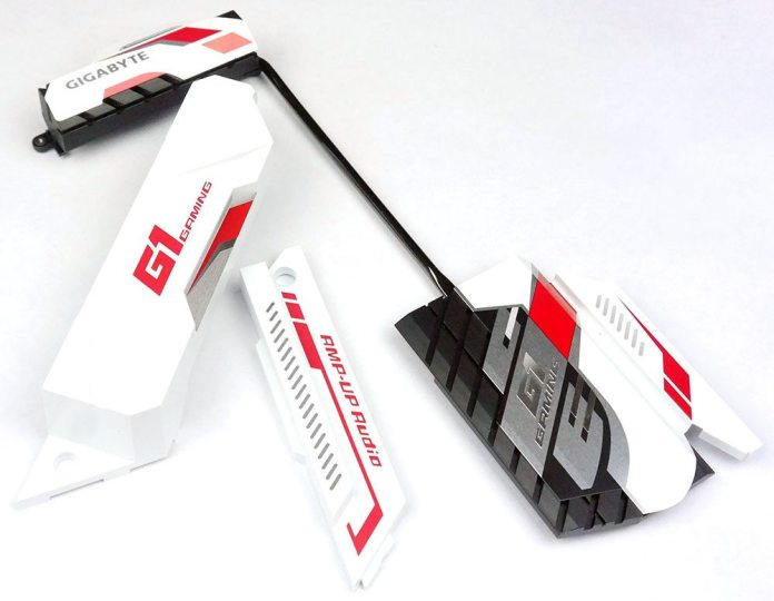 GIGABYTE X99-Ultra Gaming Heatsinks