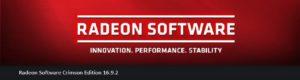 radeon software 16 9 2 version