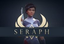 Seraph: A skill-based, acrobatic shooter... without aiming!