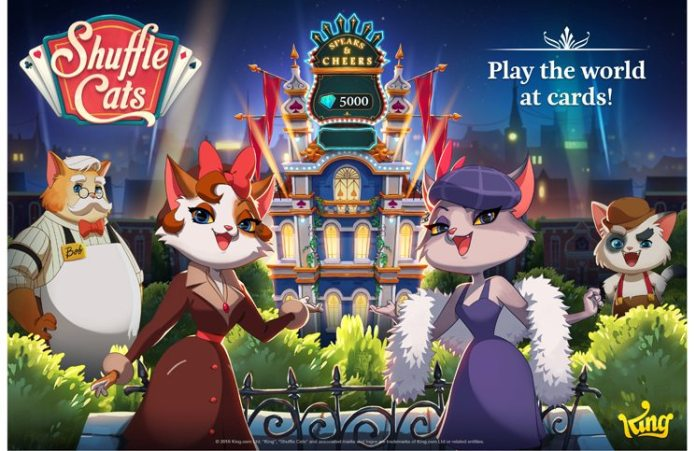 King Launches First Live Multiplayer Card Game: Shuffle Cats 3