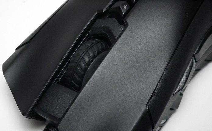 Gigabyte XM300 Wheel Close Up