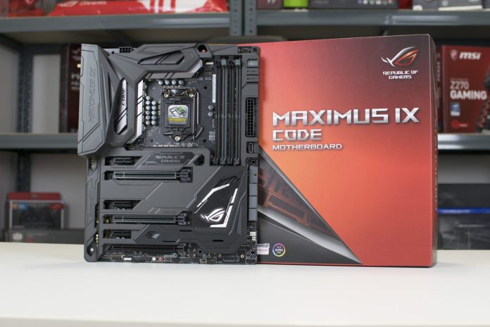ASUS ROG Maximus IX Code Z270 Motherboard Review