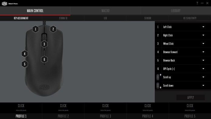 Cooler Master Mastermouse S Software 1