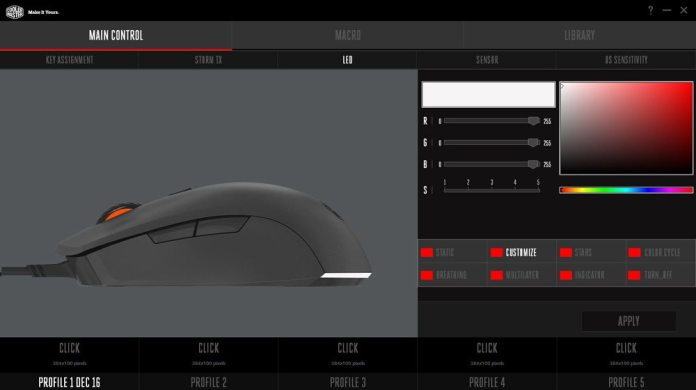 Cooler Master Mastermouse S Software 3-1