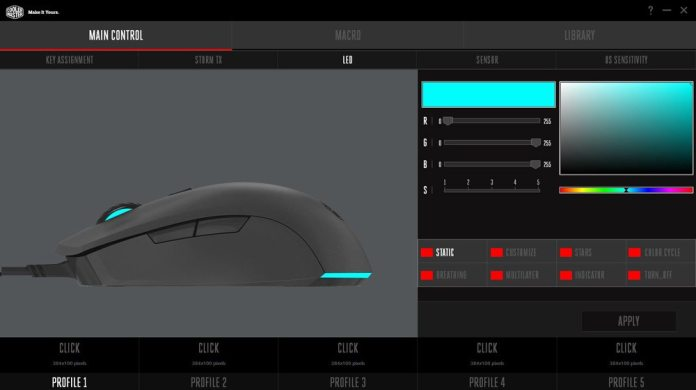 Cooler Master Mastermouse S Software 3