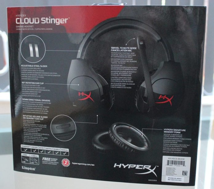 cloud stinger packaging rear