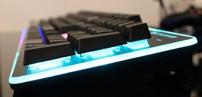 cougar deathfire keyboard raised keys