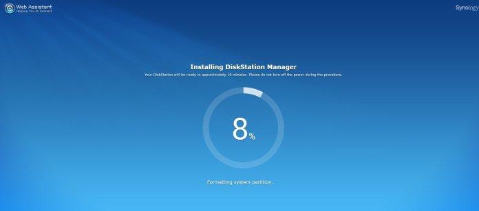 Synology DiskStation Manager DSM