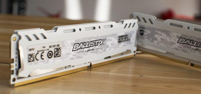 Ballistix Sport LT 2666MHz DDR4 Memory Review – 16GB (4x4GB)