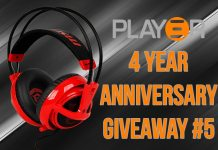 Play3r 4 Year Anniversary Giveaway #5 - Win a MSI SteelSeries Siberia V2 Headset (GLOBAL)