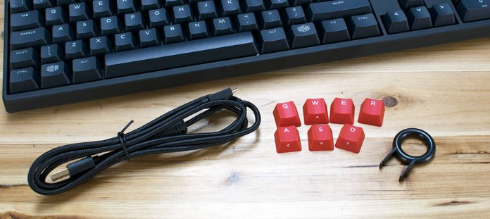Cooler Master Masterkeys PBT S & L Review 3