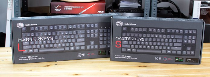 Cooler Master Masterkeys PBT S & L Review 1