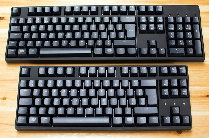 Cooler Master Masterkeys PBT S & L Review