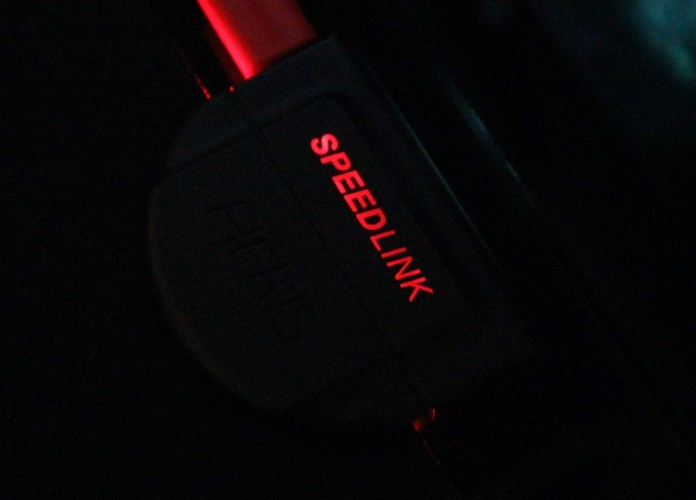 speedlink fieris powered on logo