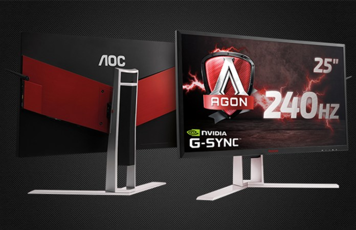 AOC showcases superfast 240 Hz AGON G-SYNC monitor