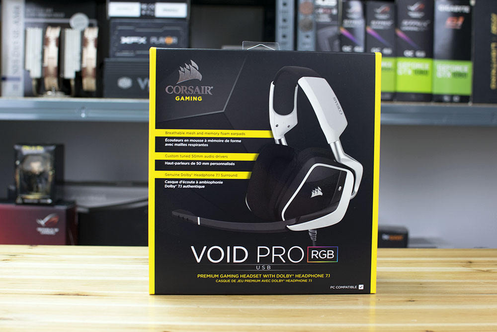 Corsair VOID Pro RGB USB Gaming Headset Review | Play3r