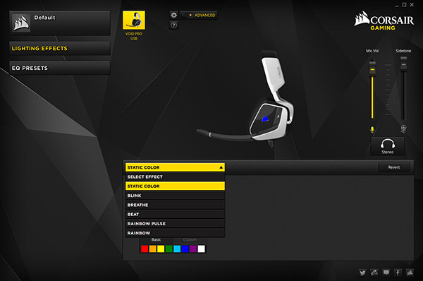 Corsair CUE Software RGB