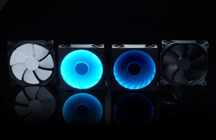 Phanteks Enthoo Pro M and Halo Lux