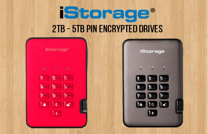 iStorage adds 3TB – 5TB capacities to the diskAshur