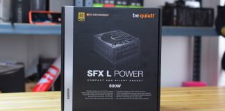 be quiet! SFX L Power 500w Review (2)