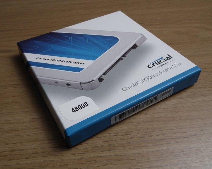 Crucial BX300 480GB box