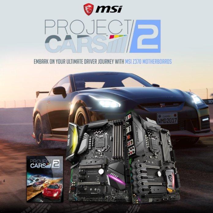 msi project cars 2 main